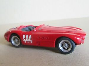 194O Top Model Ferrari 340MM Spider Vignale #444 Tour De Sicilia 1953 1:43