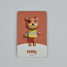 NFC Karte Animal Crossing Torsten / Teddy 161 Switch Lite