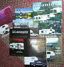 Original Glendale RV Titanium Fifth Wheel Trailer Buyer's Guides 2001-2007 + 1