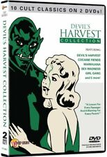 DEVILS HARVEST (1933-1954) CULT CLASSIC FILMS COLLECTION NEW 10 MOVIES 2 DVD R4