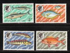 Ascension--#130-33 MNH--1970 Fish