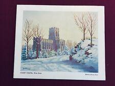 Vintage 1952 West Point Cadet Chapel & Cadet Prayer Greeting Card