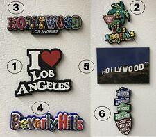 Buy 3 get 1 FREE FRIDGE MAGNET Hollywood Sign Los Angeles Beverly Hill $4.99 LA