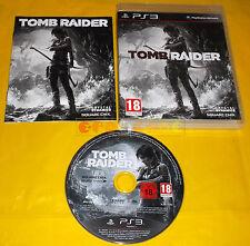 TOMB RAIDER Ps3 Versione Ufficiale Italiana 1ª Edizione ○○○○○ COMPLETO