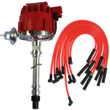 Chevy SBC 350 BBC 454 HEI Distributor With Spark Plug Wires Ignition Combo Kit