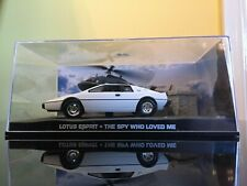 JAMES BOND 007 CAR COLLECTION Lotus Esprit The Spy Who Loved Me