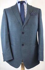 "Marks & Spencers Mens Classic Tailoring Suit Blazer Jacket Indigo 38"" Short VGC"