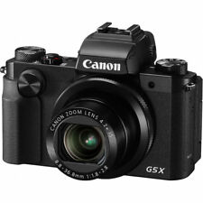Canon PowerShot G5 X Digital Camera (Black) YQ