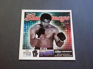 Black Image Magazine Muhammad Ali Boxing Tribute Issue July '16 RARE / NEW