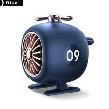 Helicopter Portable Wireless Bluetooth 5.0 Speaker Aircraft Blue