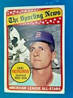 1969 Topps Carl Yastrzemski Boston Red Sox A.L. All Star Baseball Card #425