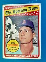 1969 Topps Carl Yastrzemski Boston Red Sox A.L. All Star Baseball Card #425