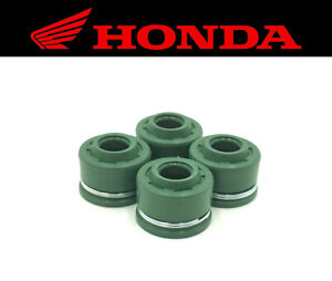 Set of (4) Intake & Exhaust Valve Stem Seals Honda (See Fitment Chart)
