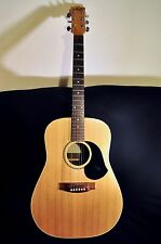 Maton M325 acoustic guitar with hard case and accessories
