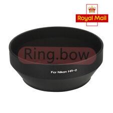 UK FAST SHIP HR-2 Nikon Metal Screw Lens Hood AF NIKKOR 50mm f1.4D f1.8D f1.2