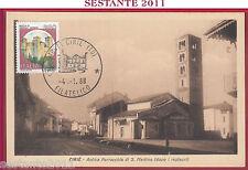 ITALIA MAXIMUM MAXI CARD CIRIè CIRIE' S. MARTINO ROCCA VIGNOLA MODENA 1988 B83