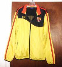 FCB Barcelona Spain Soccer Futbol Light Jacket Jersey Football FC Shirt Mens S