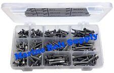 Stainless Steel Self Drilling Phillips Flat Tek Screw Assortment Kit