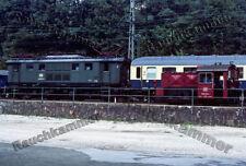 DB 144 502-2  Berchtesgaden Hbf 1981 / org. KC-Dia + Datei!  229#07