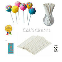 Paper Lollipop Cake Pop Sticks Lollies Crafts Lolly  89mm, 114mm, 152mm
