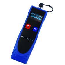 Puissance Mètre Fiber Optique avec 6 Optique Vague Longueur & FC Convertisseur