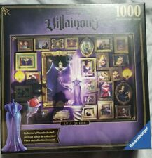 New Sealed Disney Villainous Evil Queen 1000 Pc Puzzle Ravensburger Snow White