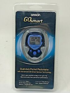 NEW SEALED Omron Go Smart Dual Axis Pocket Pedometer HJ-113