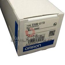 OMRON E5GN-Q1TD TEMPERATURE CONTROLLER 100-240VAC TERMINAL BLOCK NEW
