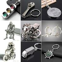 CREATIVE COOL WRENCH SKULL CAR TOOL KEY CHAIN RING KEYRING METAL KEYCHAIN GOOD