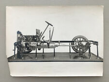 Antique Photo De Dion Bouton Car Chassis French Auto Engine Transmission Truck