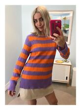 Womens Designer Marc Jacobs Grunge Stripe Knit Size Medium (AUS 8-10)