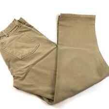 Saddlebred Men  Work Jeans 35 X30 (Tag 36 X 32) 100% Cotton Classic Fit Tan