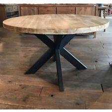 Teak Esstisch BEEK Ø 130cm Massivholz Holztisch Dinnertisch Tisch Esszimmertisch