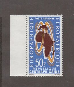 Central African Republic - 1962, 50F Air Post, Founding of Air Afrique airline