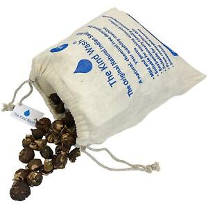 The Kind Wash Indian Soap Nuts Natural Washing Detergent 1kg + Wash Bags