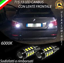 LAMPADE RETROMARCIA 13 LED T15 W16W CANBUS BMW SERIE 5 E60 6000K NO ERROR
