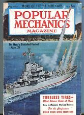 Popular Mechanics Magazine December 1957 Navy Bobtailed Fireball 062017nonjhe