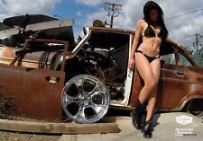 """18x12"""" GASSER 474 WHEEL AMERICAN RACING 2 PIECE CUSTOM FORD MOPAR CHEVY GM  NEW"""