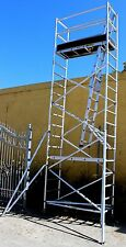 Aluminium Mobile Scaffold Tower F56 Scaffolding  Standing 4.9m Overall Height 6m