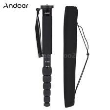 Andoer 6Section Portable Monopod Unipod Stick for Sony Nikon Canon Pentax Camera