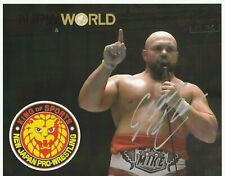 Michael Elgin Autograph New Japan Pro Wrestling 8x10 Photo