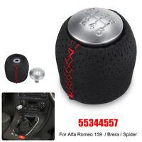 6 Levier Vitesse Pommeau Rouge pour Alfa Romeo 159 Brera Spider 05-11 55344209