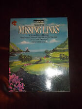 Be Puzzled The Case Of the Missing Links A Jigsaw Puzzle Mystery 20x20  500 NIB