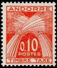 """ANDORRE FRANCAIS STAMP TIMBRE TAXE 43 """" TIMBRE-TAXE 10c. """" NEUF xx TTB"""