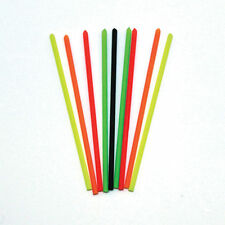 HOLLOW FLUORO POLE FLOAT TIPS 25s 20s 50s  POLE FLOAT MAKING MATERIALS