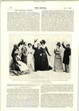1899 On Off Vaudeville Theatre Mr Jl Mackay