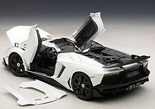 Autoart LAMBORGHINI AVENTADOR J WHITE in 1/18 Scale. New Release! In Stock!