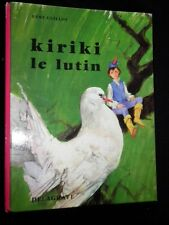 SIGNED: Kiriki le Lutin 1968-1st Rene Guillot & Paul Durand - French/Children's