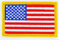 Toppe Toppa PATCH USA Bandiera Americana termoadesivo