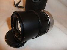 Camera lens for TOPCON SLR 135mm f 1:4,0 UV TOPCOR  TOKYO KOGAKU 13937274 ..  K2